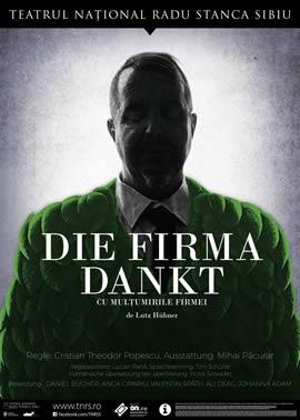 CU MULTUMIRILE FIRMEI / DIE FIRMA DANKT de Lutz Hübner