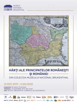 Vernisaj  Hărţi ale principatelor româneşti şi României din colecţia Muzeului Naţional Brukenthal