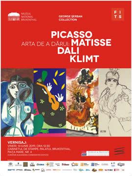 Expoziția: Arta de a dărui: Picasso, Matisse, Dali, Klimt