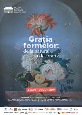 Expoziția: Grația formelor: de la natural la decorativ