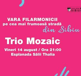 Tangouri Celebre de Astor Piazzolla cu Trio Mozaic