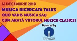 Musica Ricercata Talks II - Quo vadis musica?