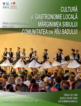 Târgului comunităților rurale - Comuna Rîu Sadului