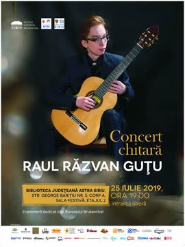 Concert dedicat Zilei Baronului Brukenthal