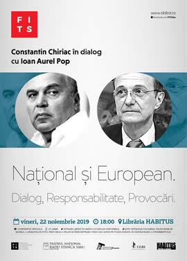 Constantin Chiriac în dialog cu Ioan-Aurel Pop - Președintele Academiei Române