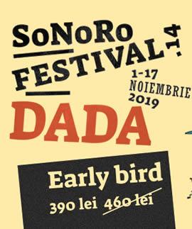 Festivalul SoNoRo DADA