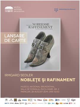 Lansare de carte: Noblețe și rafinament, pantoful de curte din Baroc și Rococo