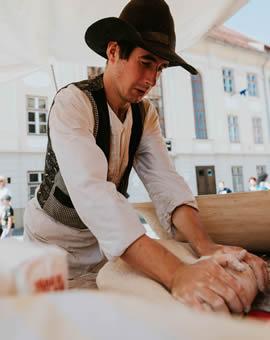 Atelier gastronomic de brutărie Calfele Calatoare