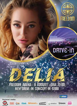Sibiu: Freedom Events – Concert Delia