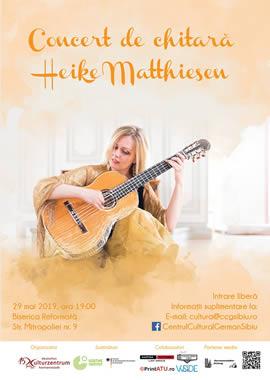 Concert de chitară cu Heike Matthiesen