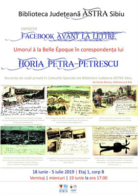 Vernisaj: Facebook avant la lettre - Corespondența anilor 1900
