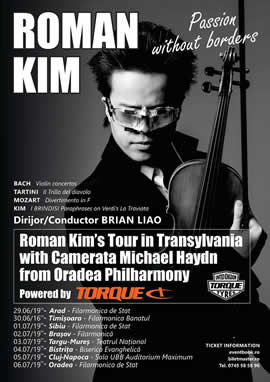 Concert Roman Kim in Orasul Tau