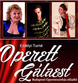 Gala de operetă de primăvară cu interpreții Teatrului de Operetă din Budapesta