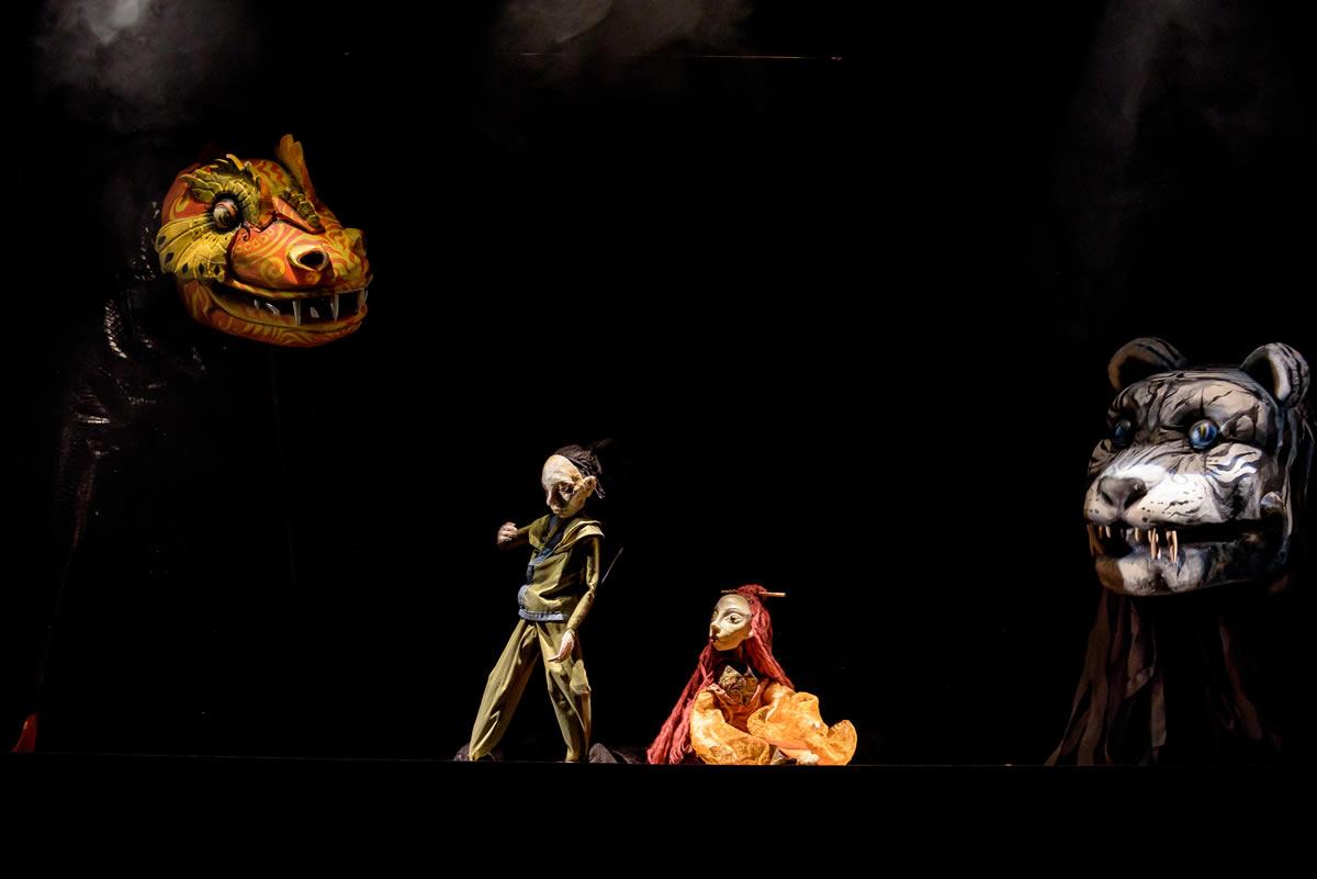 Spectacolul Da Yang si Printesa Da Yin